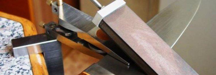 Станки для заточки ножей – ручные и электрические