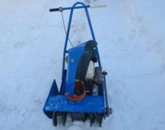Снегоуборщик своими руками – сезонное приспособление, которое не обязательно покупать