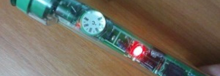 Регулятор температуры паяльника своими руками, или паяльная станция?