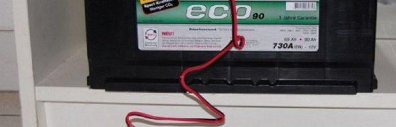 Как правильно зарядить аккумулятор автомобиля зарядным устройством?