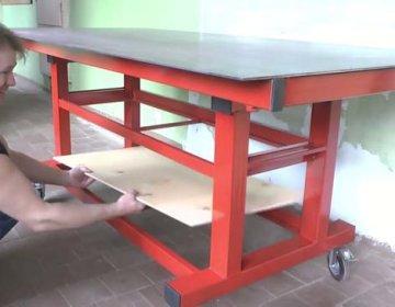 Сварочный стол своими руками: пошаговая инструкция