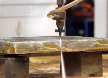Гидроабразивная резка – как происходит, и где применяется