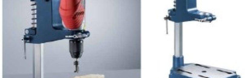 Изготовить сверлильный станок из дрели своими руками не сложно