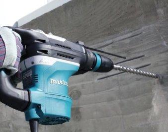Сверление отверстий в бетоне – инструменты и технологии