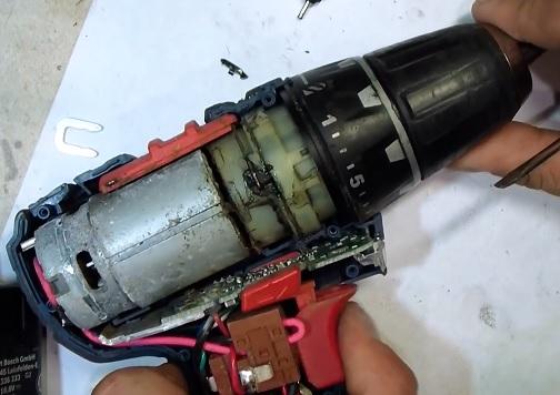Шуруповерт интерскол да 18эр ремонт своими руками