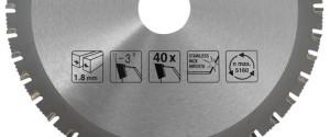 Углы заточки на маркировке диска