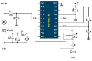 Интегральная схема регулятора