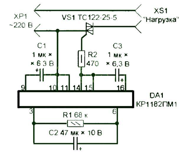 Принципиальная электрическая схема отрезной машинки макита
