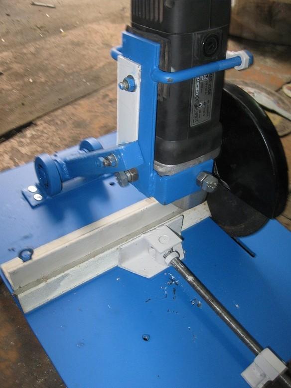 Приспособление для резки металла болгаркой своими руками
