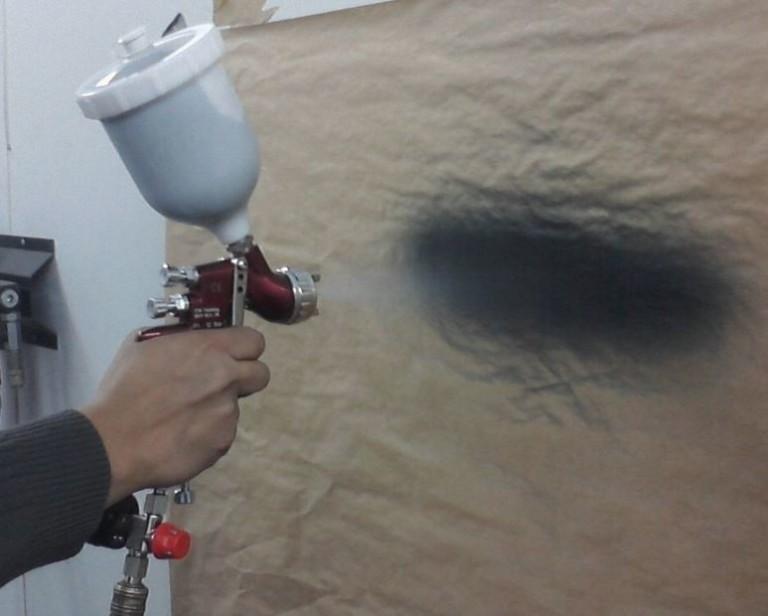 Краскопульт для покраски потолка своими руками