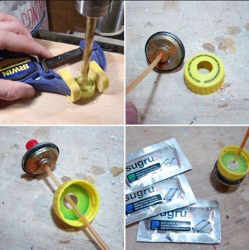 Как можно сделать свой баллончик с краской 105