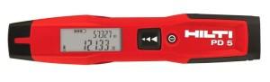 HILTI PD5 дальномер для профессионалов
