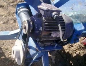 электродвигатель лебедки