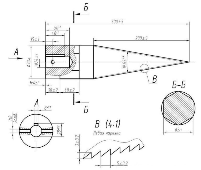 Реечный дровокол своими руками чертежи 137