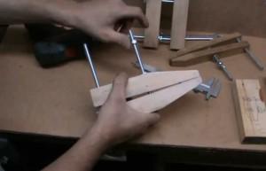Как сделать струбцину