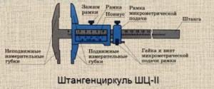 Штангенциркуль ШЦ-2