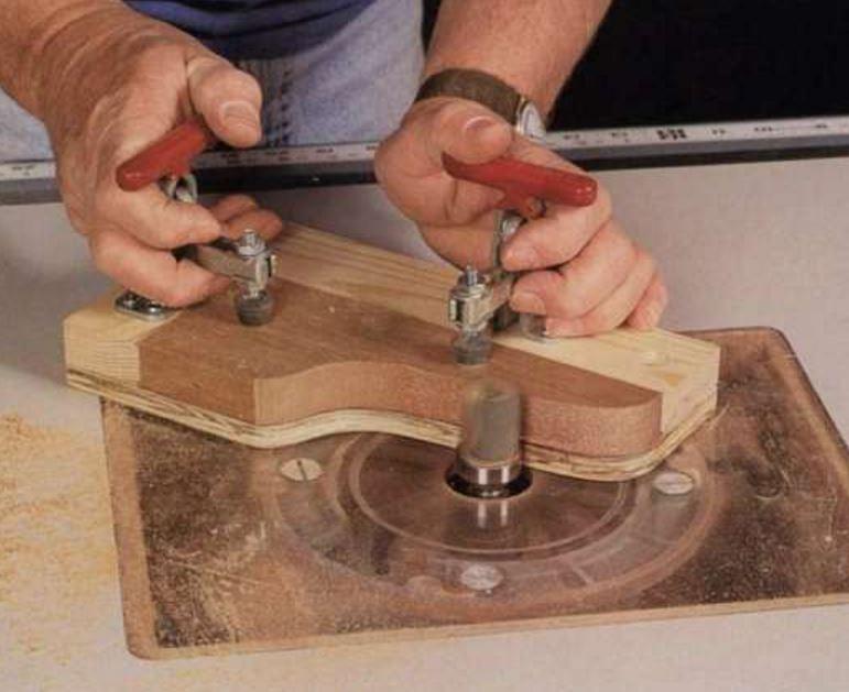 Зажим для деревянных изделий своими руками