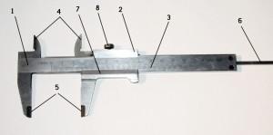 устройство штангенциркуля