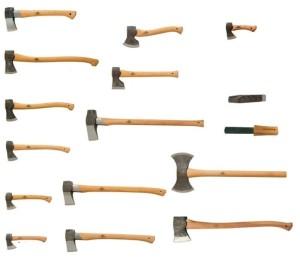 Типы и виды топоров