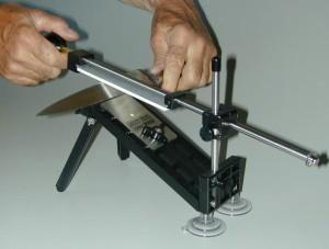 Как точить ножи видео