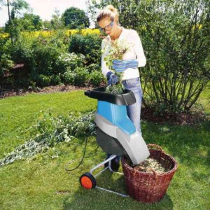 садовый электрический измельчитель