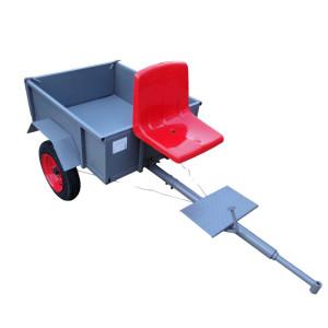 телега с сиденьем для мотоблока