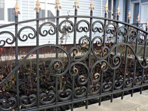 холоднокованый забор