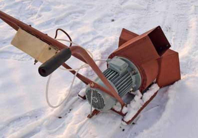 Ремонт снегоуборщиков своими руками