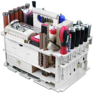 заводской органайзер для хранения инструмента из фанеры