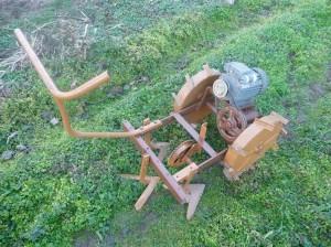 культиватор с электроприводом