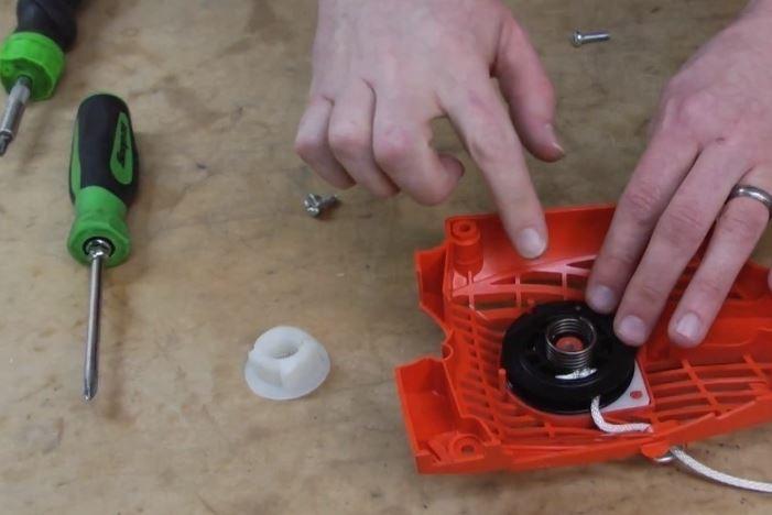 Ремонт электродвигателей пилы своими руками