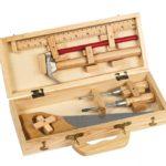 деревянный ящик под инструмент