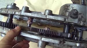 сборка редуктора мотокультиватора