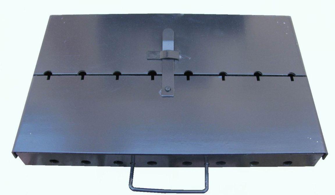 Раскладной мангал чемодан своими руками из металла