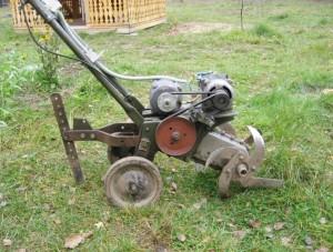 самодельный культиватор с электродвигателем