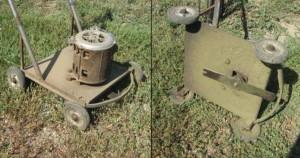 косилка из двигателя стиральной машинки