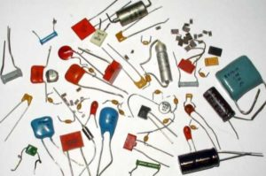 конденсаторы различных типов