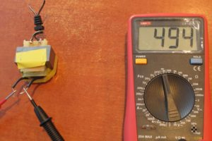 Измерить сопротивление мультиметром