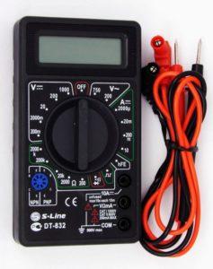 мультиметр с электронной шкалой