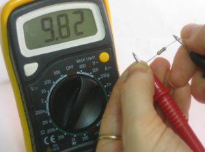 проверка резистора мультиметром