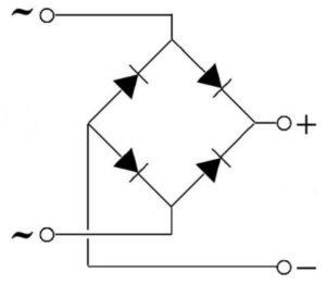 Как сделать диодный мост