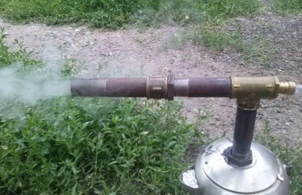 испытание дымогенератора