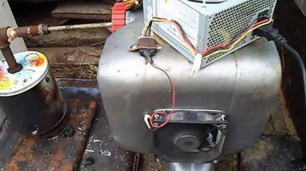 Как сделать компрессор из кулера