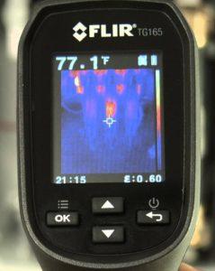 Экран FLIR-TG165