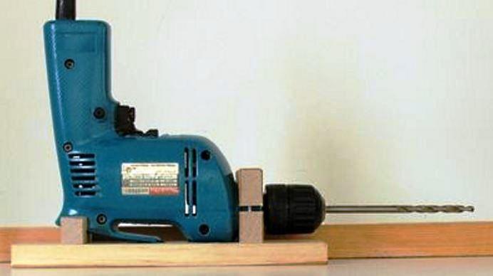 самодельная дрель угловая электрическая