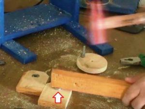 делаем кривошипно-шатунный механизм из фанеры