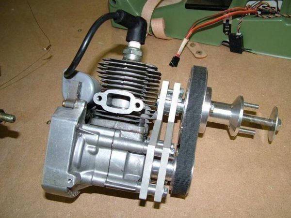 двигатель от бензопилы