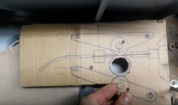 схема механизма подачи проволоки