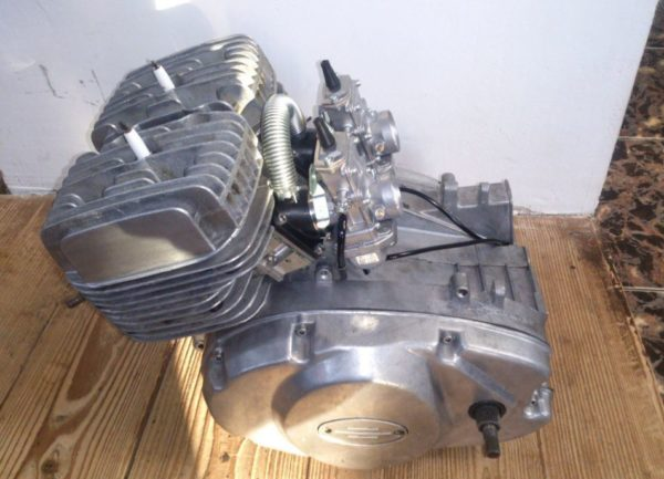 Двигатель от мопеда