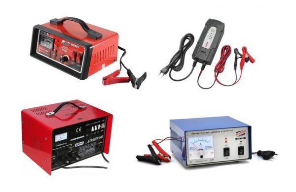 разные зарядные устройства
